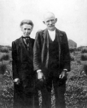 Packie's parents, Connell and Maria Byrne